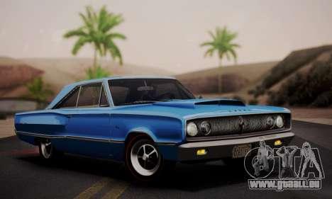 Dodge Coronet 440 Hardtop Coupe (WH23) 1967 pour GTA San Andreas