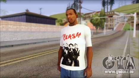 The Clash T-Shirt pour GTA San Andreas