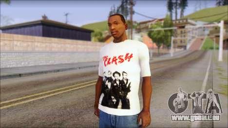 The Clash T-Shirt für GTA San Andreas