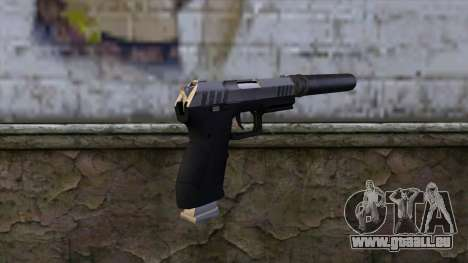 Silenced Combat Pistol from GTA 5 pour GTA San Andreas deuxième écran