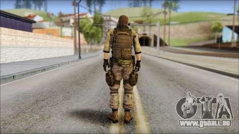 Piers Nivans Resident Evil 6 pour GTA San Andreas deuxième écran