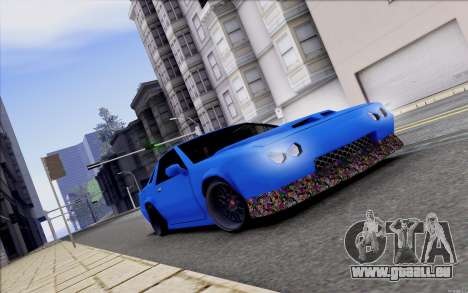 Buffalo Drift Style pour GTA San Andreas vue intérieure