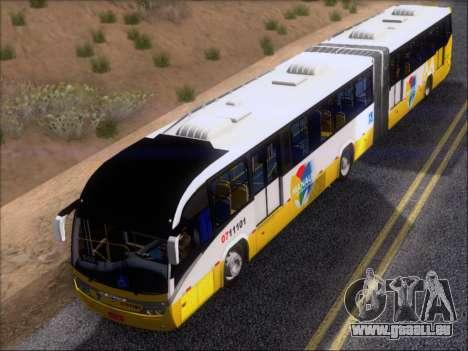 Neobus Mega BRT Volvo B12M-340M pour GTA San Andreas salon