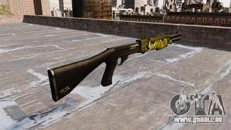 Ружье Franchi SPAS-12 Woodland für GTA 4 Sekunden Bildschirm
