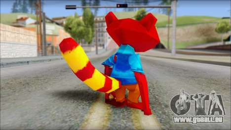 Chang the Firefox from Fur Fighters Playable für GTA San Andreas dritten Screenshot