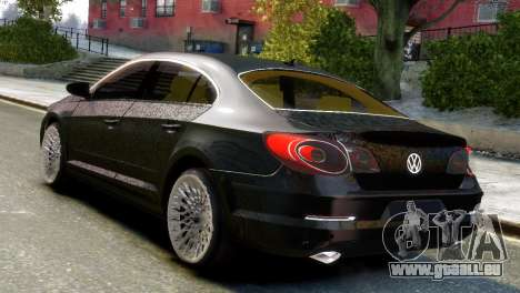 Volkswagen CC pour GTA 4 est une gauche