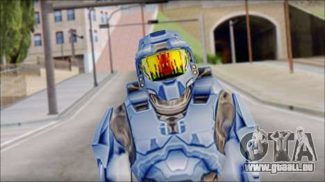 Masterchief Blue from Halo pour GTA San Andreas