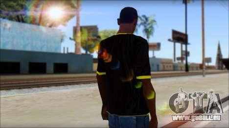Harley Davidson T-Shirt pour GTA San Andreas deuxième écran