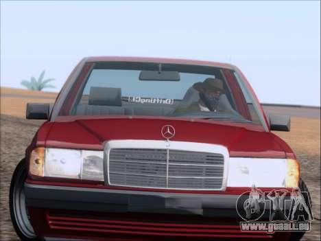 Mercedes Benz 190E Drift V8 für GTA San Andreas