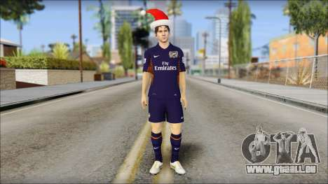 Messi Arsenal Christmas Special für GTA San Andreas