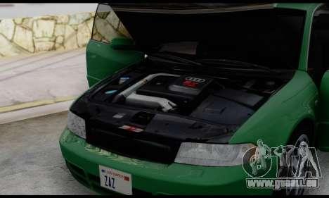 Audi S4 2000 pour GTA San Andreas vue de côté