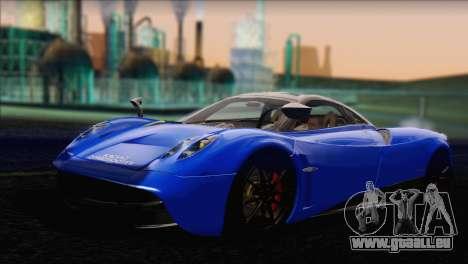 Pagani Huayra 2012 pour GTA San Andreas