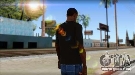 Kobie Shirt für GTA San Andreas zweiten Screenshot