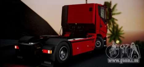 Iveco Stralis HI-ROAD pour GTA San Andreas laissé vue