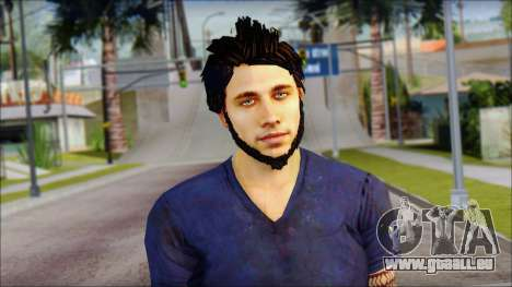 Jason Brody pour GTA San Andreas troisième écran