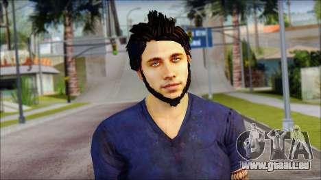 Jason Brody für GTA San Andreas dritten Screenshot