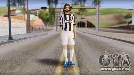 Andrea Pirlo pour GTA San Andreas