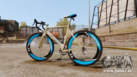 GTA V Tri-Cycles Race Bike für GTA 4 linke Ansicht