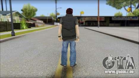Paul from Good Charlotte für GTA San Andreas zweiten Screenshot