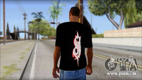 SlipKnoT T-Shirt v5 für GTA San Andreas zweiten Screenshot