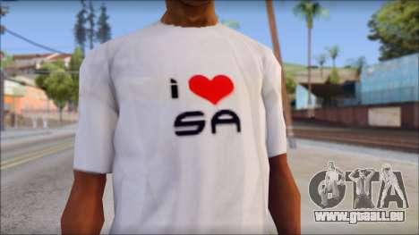 I Love SA T-Shirt für GTA San Andreas dritten Screenshot