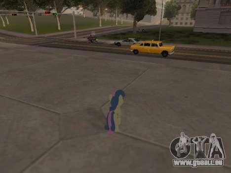 Bonbon pour GTA San Andreas cinquième écran