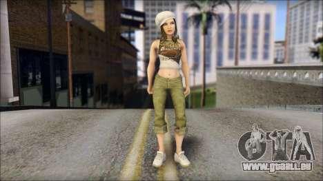 Un Aspirant Miss pour GTA San Andreas
