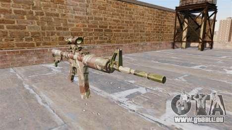Automatische Karabiner MA Doll Camo für GTA 4