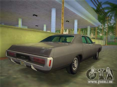 Dodge Polara 1971 für GTA Vice City linke Ansicht