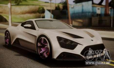 Zenvo ST SHDru Tuning für GTA San Andreas
