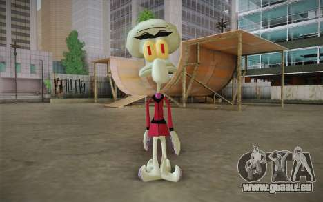 Squilliam from Sponge Bob pour GTA San Andreas