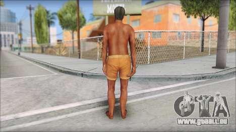 Beach Character 4 pour GTA San Andreas troisième écran