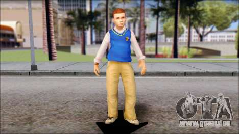 Petey from Bully Scholarship Edition für GTA San Andreas zweiten Screenshot
