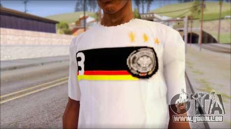 A.Friedrich Trikot T-Shirt pour GTA San Andreas troisième écran