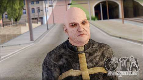 Father Martrin From Outlast pour GTA San Andreas troisième écran