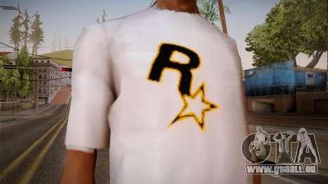 Rockstar Games Shirt pour GTA San Andreas troisième écran