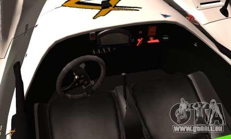 Radical SR8 Supersport 2010 pour GTA San Andreas vue de droite