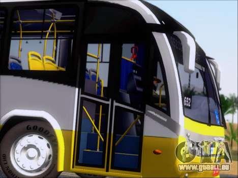 Neobus Mega BRT Volvo B12M-340M pour GTA San Andreas vue de côté