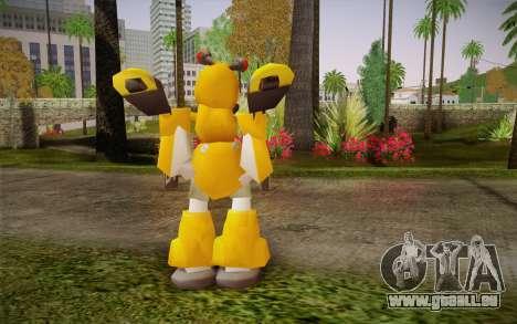 Metabee pour GTA San Andreas deuxième écran