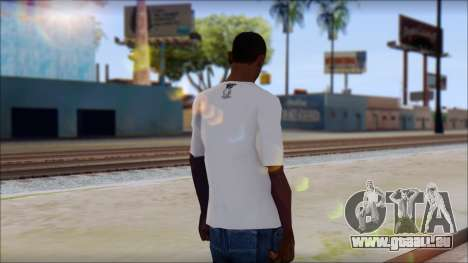 MTV T-Shirt pour GTA San Andreas deuxième écran