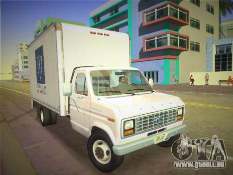 Ford E-350 1988 Cube Truck pour GTA Vice City