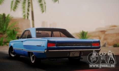 Dodge Coronet 440 Hardtop Coupe (WH23) 1967 pour GTA San Andreas laissé vue