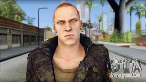 Jake Muller from Resident Evil 6 v2 für GTA San Andreas dritten Screenshot