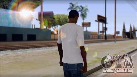 The Clash T-Shirt für GTA San Andreas zweiten Screenshot