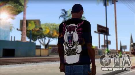Eskimo Callboy Eisbaer T-Shirt für GTA San Andreas zweiten Screenshot
