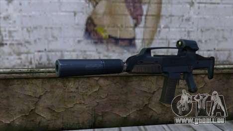 XM8 Compact Blue für GTA San Andreas