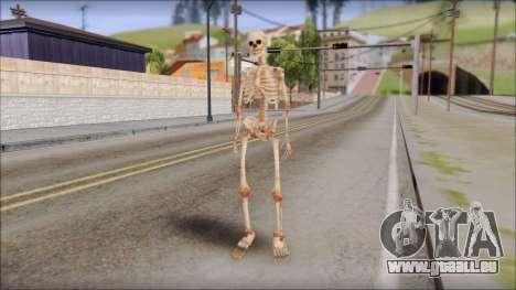 Skeleton from Sniper Elite v2 pour GTA San Andreas