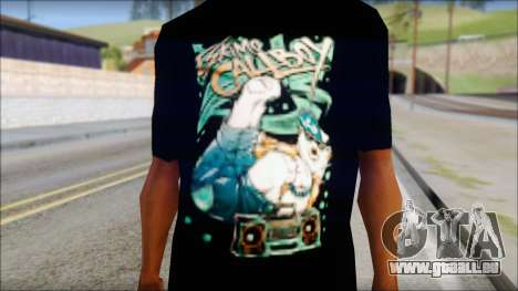 Eskimo Callboy Fan T-Shirt für GTA San Andreas dritten Screenshot