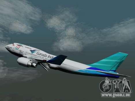 Boeing 747-400 de Garuda Indonesia pour GTA San Andreas