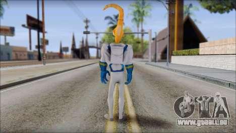 Earthworm Jim pour GTA San Andreas troisième écran